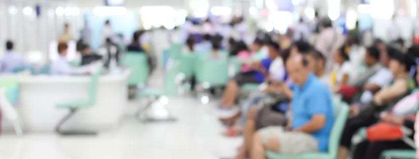 Warteraum im Krankenhaus