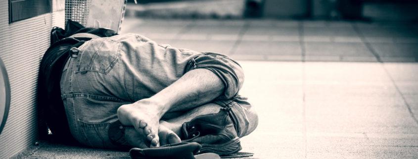 Obdachloser Krankenversorgung